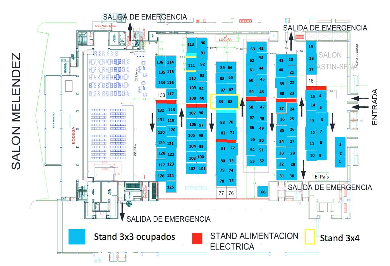 Mapa del evento abril 21 2015